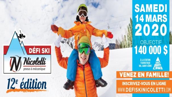 Défi Ski Nicoletti pneus & mécanique