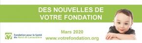 Infolettre - Mars 2020